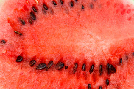 Texture of the fresh sweet red watermelon