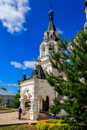 Cathedral of the Annunciation of the Blessed Virgin Mary in Annunciation Monastery in Murom, Russia Archivio Fotografico