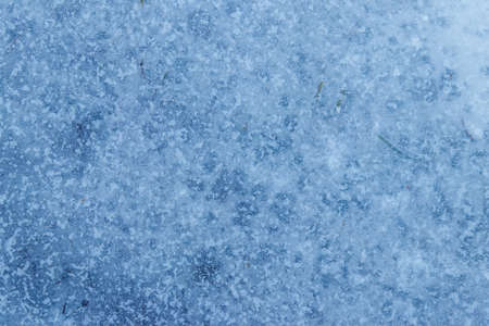 Texture of the ice surface. Winter background Archivio Fotografico