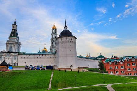 View of Trinity Lavra of St. Sergius in Sergiev Posad, Russia