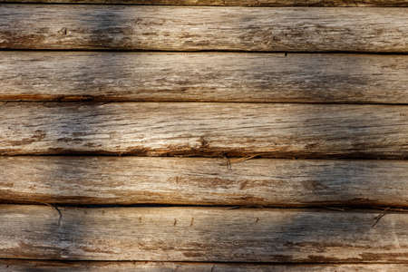 Old wooden texture for background. Weathered wood boards 免版税图像