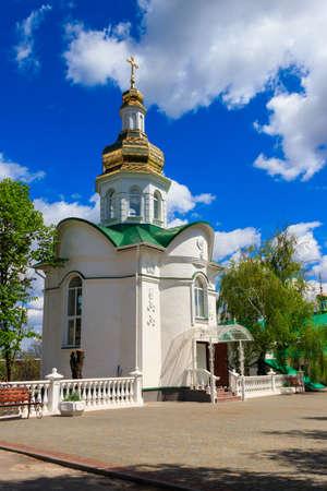 Savior-Transfiguration Mhar Monastery near Lubny in Poltava region, Ukraine