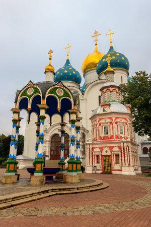 Trinity Lavra of St. Sergius in Sergiev Posad, Russia