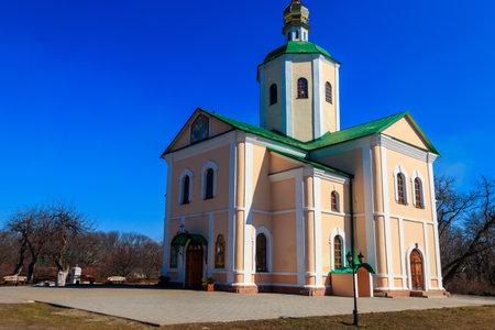 Holy Trinity Motroninsky convent in Kholodny Yar, Ukraine