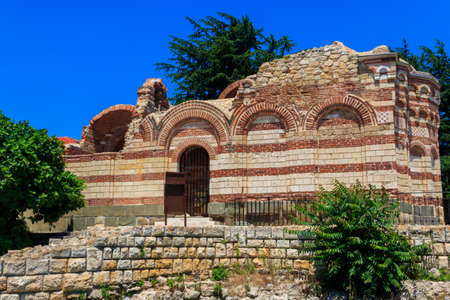 Church of St. John Aliturgetos in the old town of Nessebar, Bulgaria.