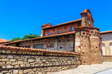 Church of St. Stephen in the old town of Nessebar, Bulgaria.