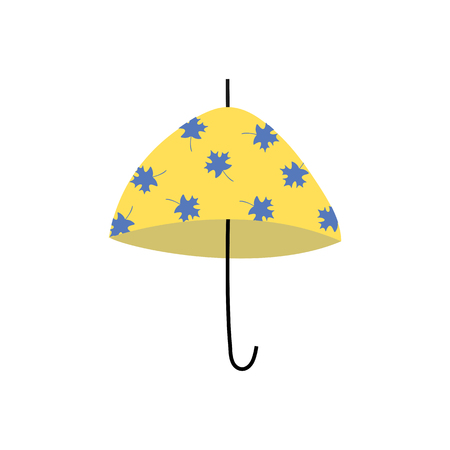 Umbrella in a vector style isolated. Vector for background, texture, wrapper pattern, frame or border.