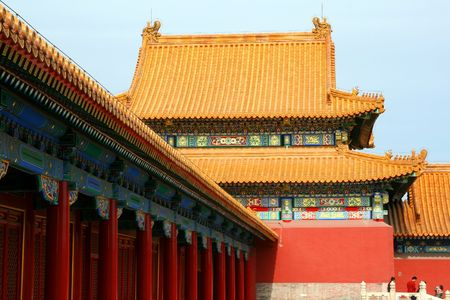 A part of Forbidden City photo