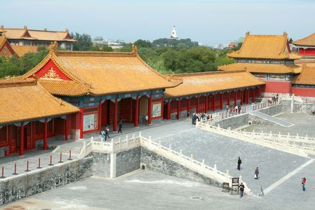 Palace in the forbidden City, Beijing