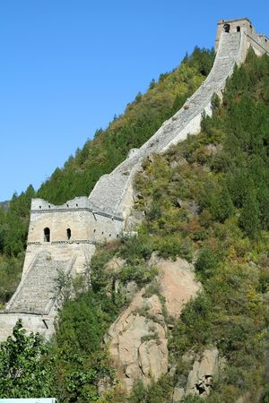 Great Wall of China 版權商用圖片