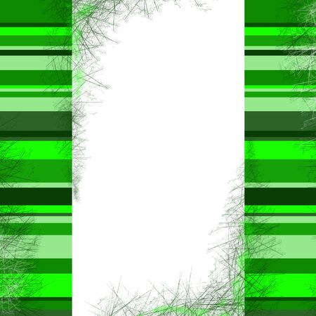 background with green stripes frame with space for text Stock Photo - 3610230