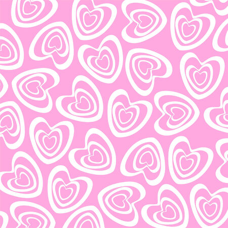 cur: Ornament. Vector. Abstract background. Heart Illustration