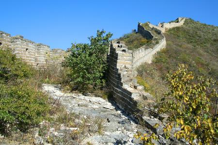 simatai: Great Wall of China. Beijing Stock Photo