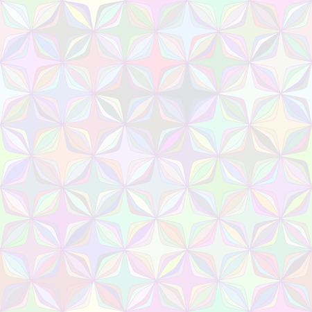 Resumen de vectores de fondo geométrico de la flor colores pastel transparente patrón