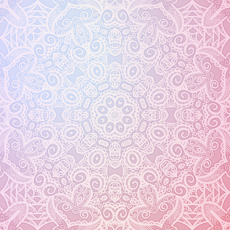 Abstract background, Round ornament texture. Ilustracja