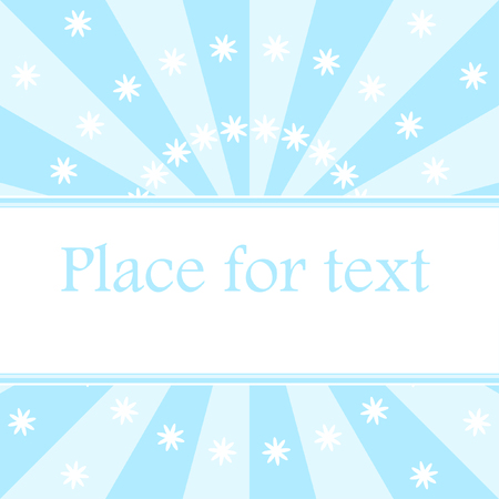 blue rays background with place for text