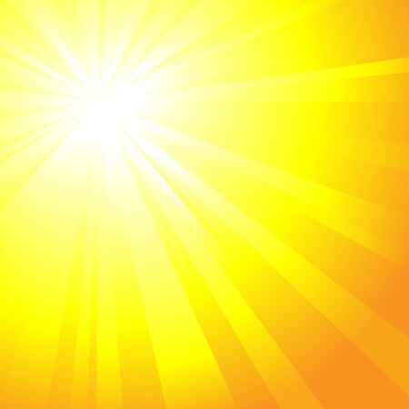 Sunrise ray background Vector