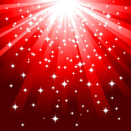 magic red background vector