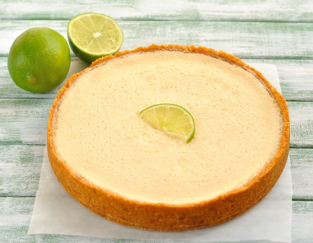 lime pie photo