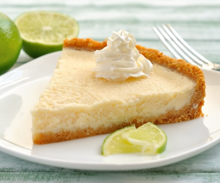 lime tart Stock Photo