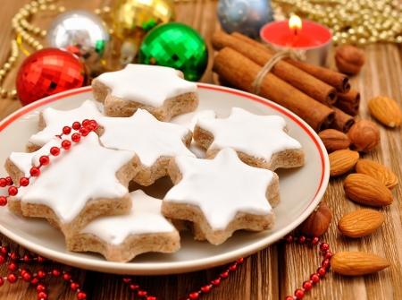 Christmas star cookies Stock Photo - 15362066