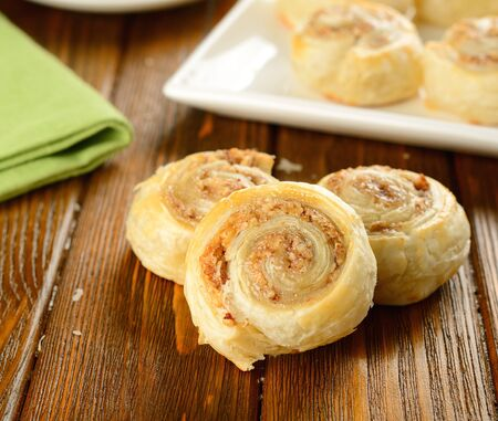 Rolls with nut filling Stock Photo - 16566267