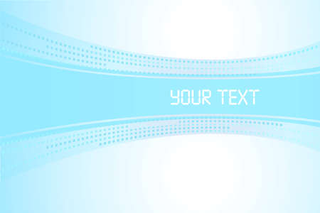 Banner for the text on a light blue background
