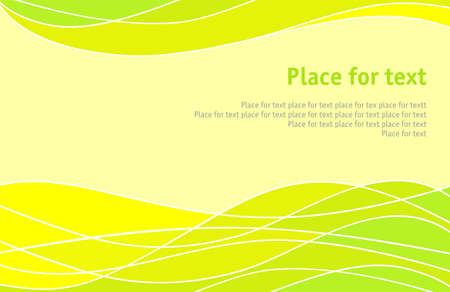 background with transition of yellow to the green