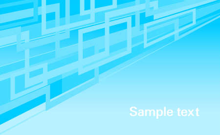 horizontal web blue abstract background