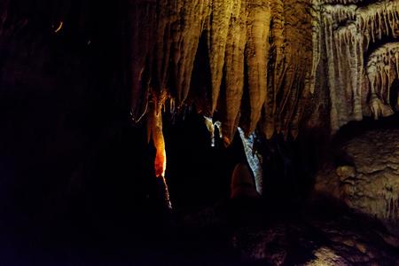 Cuevas de Jenolan, Blue Mountains, NSW, Australia. Foto de archivo - 79561437
