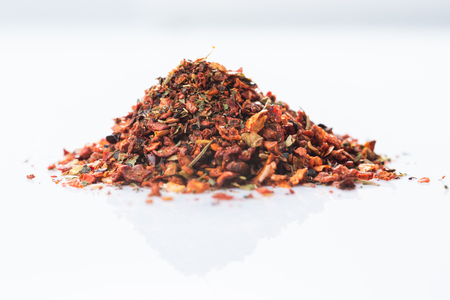 Close-up of Osmanli tatli. Ottoman sweet spices blend on white background Reklamní fotografie