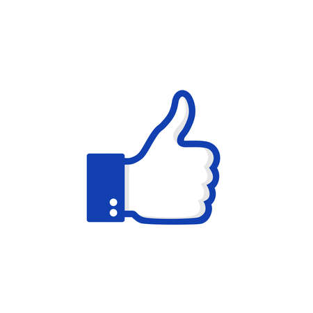 Like icon. Thumbs up icon vector. symbol for web site Computer and mobile vector.