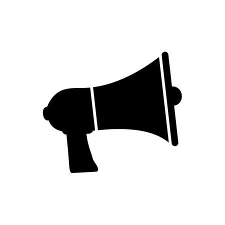 Megaphone, promote icon symbol vector