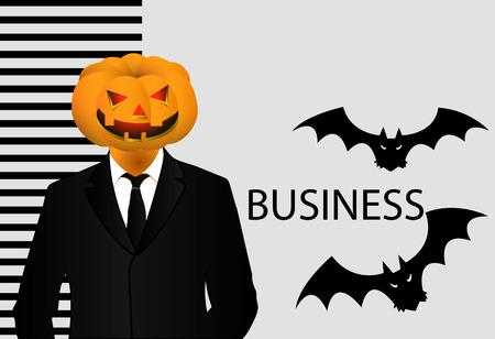 afterglow: Halloween vector illustration for business.