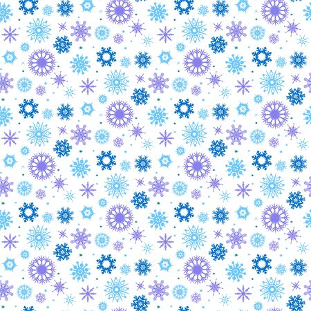 Seamless pattern with flakes. Perfect for wallpaper, gift paper, pattern fills, web page background, cards. Vektoros illusztráció