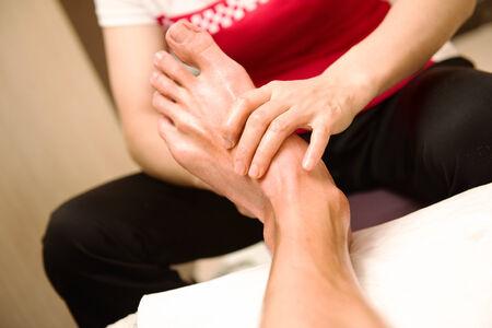 acupuntura china: Foto de la acupuntura china y masaje para pies