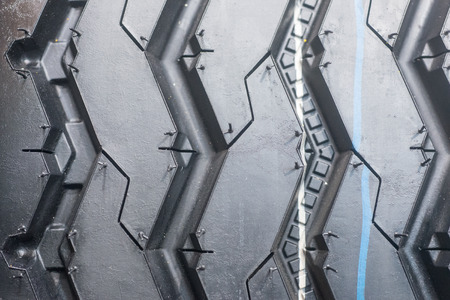 grooves: Truck new tire tread pic closeup photo