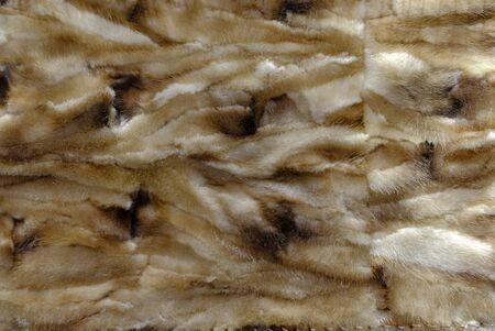 Natural mink fur for sewing fur coats