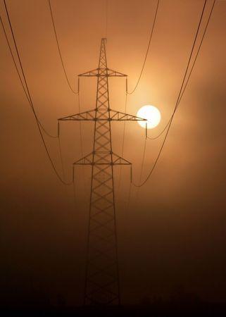 conductivity: Electric columns in fog