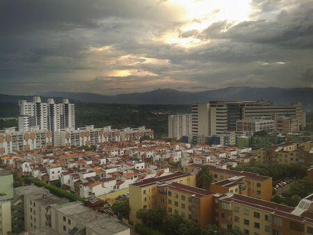 presure: Bucaramanga sky