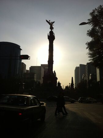 Independence Angel of Mexico City.