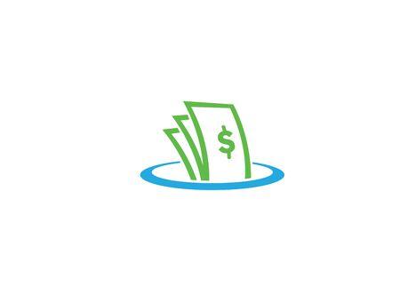 Money inside the circle chart Finance for design illustration on white background Stock Illustratie
