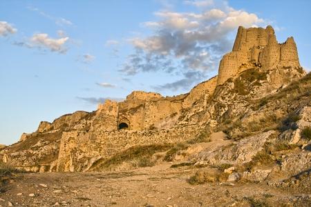 Capital fortress of  ancient kingdom Urartu in Van city, Eastern Turkey