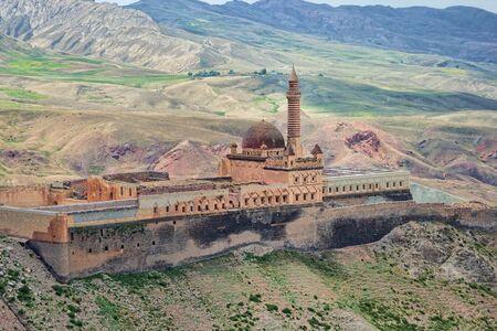 Ishak Pasha Ottoman Sultan Palace near Mount Ararat in Turkey