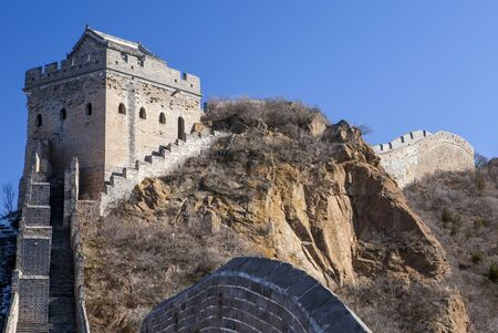 simatai: Little Jinshan watch tower of the Great Wall between Jinshanling and Simatai, China
