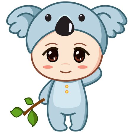 baby in cute Koala costume