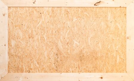 table scraps: Recycled compressed plywood board texture - background