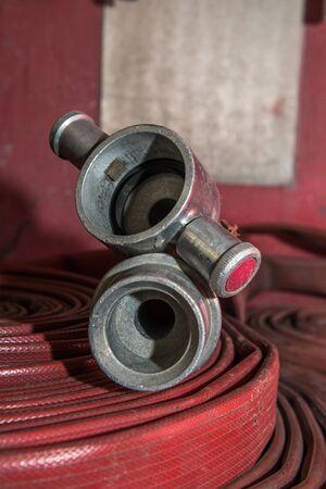 fire hose: fire hose Stock Photo