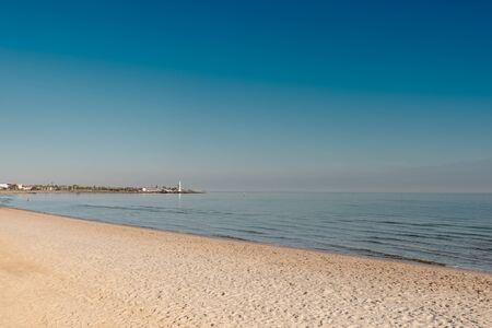 st kilda: Sea view  at St Kilda Beach, Melbourne Australia