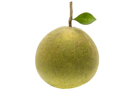 pomelo isolate on white background
